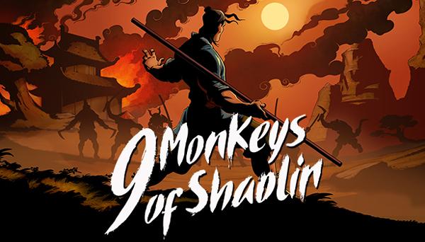 دانلود نسخه فشرده بازی 9 Monkeys of Shaolin برای PC